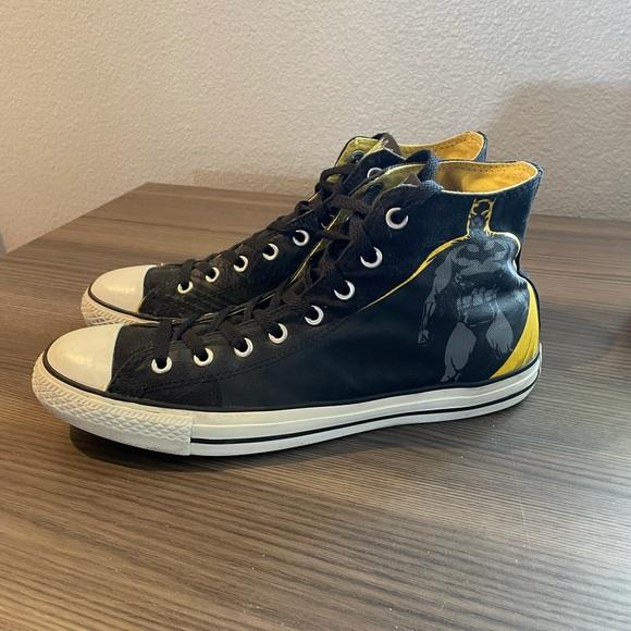 Converse Chuck Taylor Batman DC 75 Hi-tops Unisex Sneakers